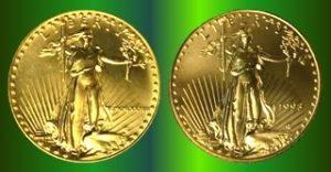 Eagle Pair Roman And Arabic
