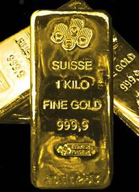 Gold Bars Kilogram