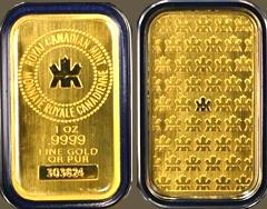 Canadian Gold Bar